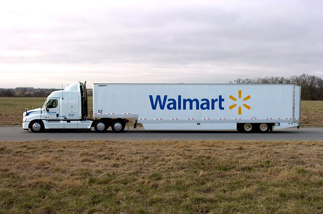 walmart s grease fuel truck flickr photo sharing. Black Bedroom Furniture Sets. Home Design Ideas