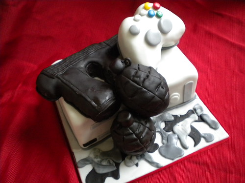 call of duty cake call of duty xbox cake flickr photo 2378