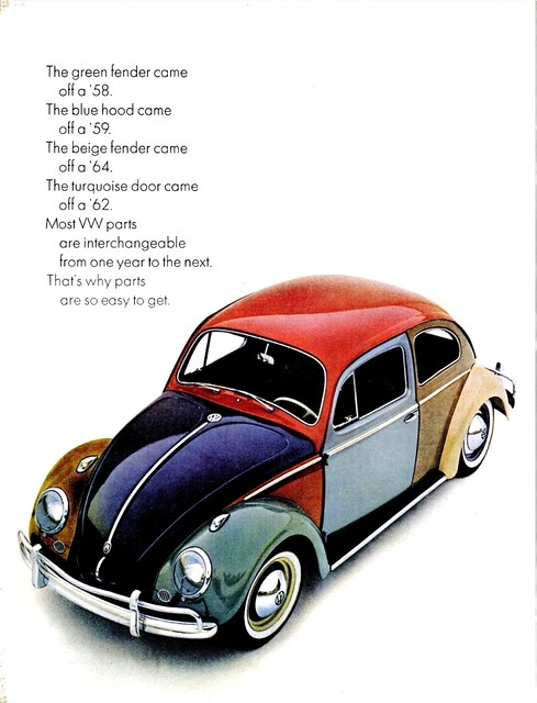 VW BEETLE AD LIFE MAG JUN 12, 1964 | Flickr - Photo Sharing!