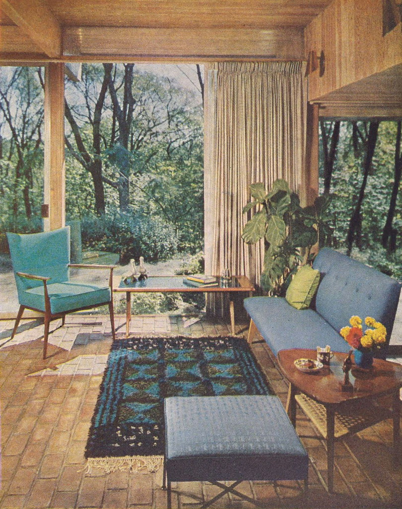 Better homes gardens decorating book more teal that for Garden design 1960s