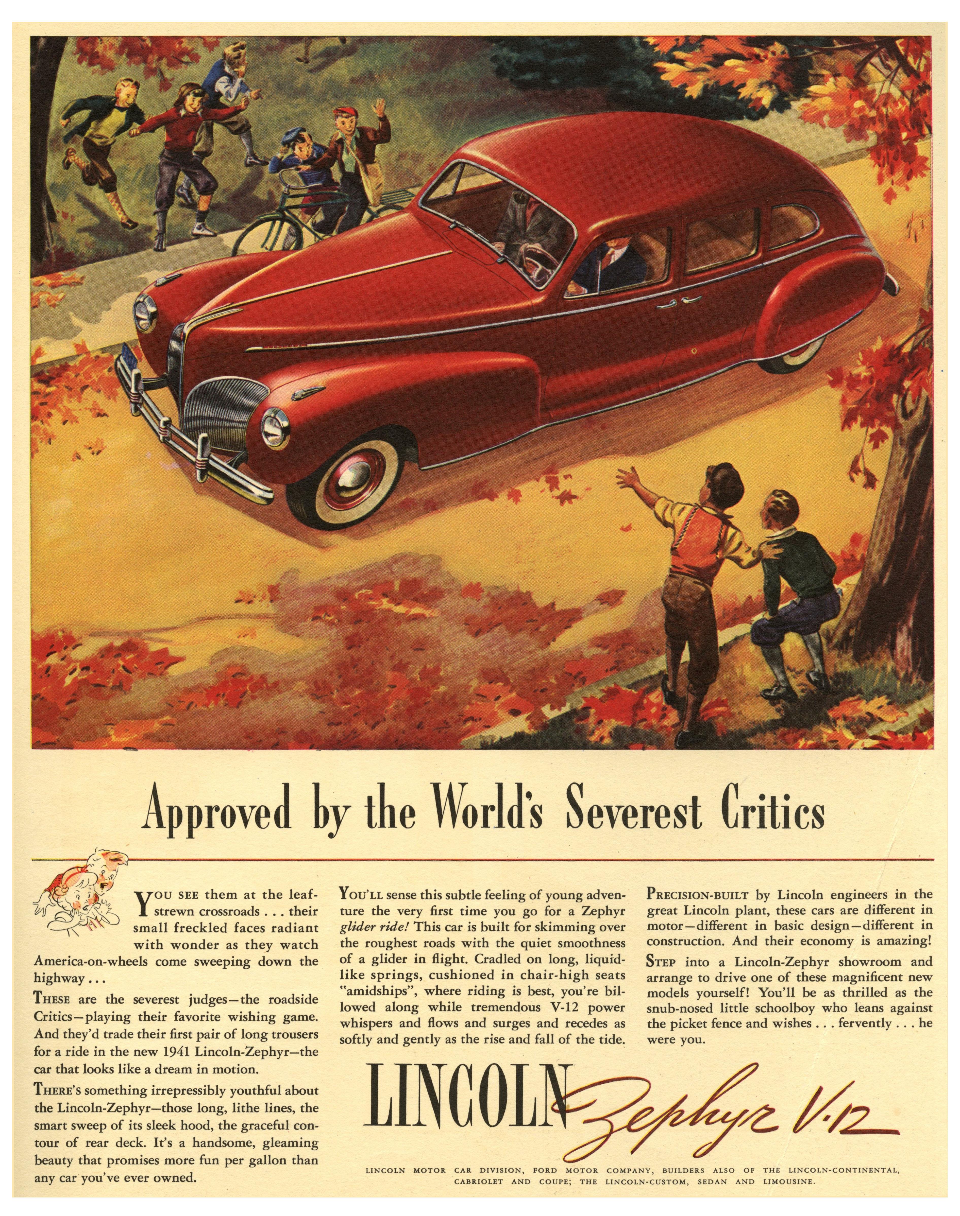 1941 Lincoln-Zephyr