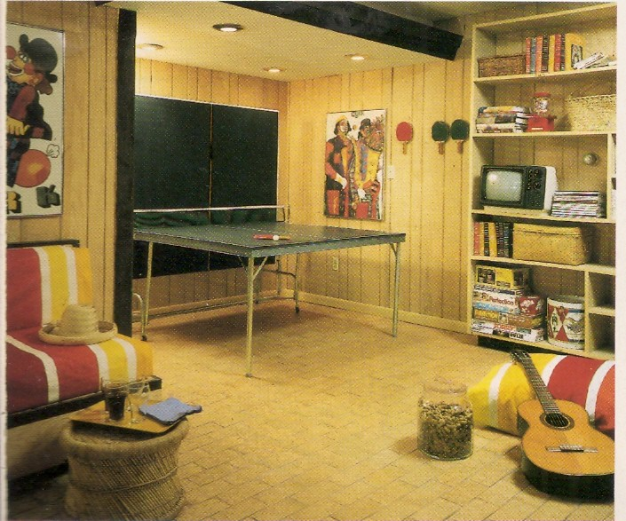 "Home Entertainment 1970s Style Ping-pong and ""Kumbyah"