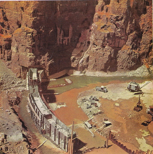 Dokan Dam Under Constraction 1956