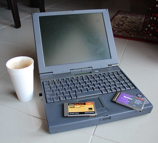 My first laptop - HP Omnibook 2100 | by Tilemahos Efthimiadis