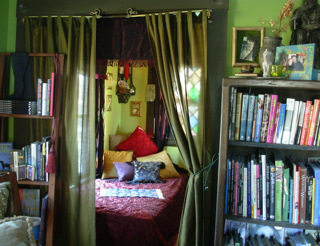 Tinyroom Tinyroom View Into The Tiny Green Room From The Library