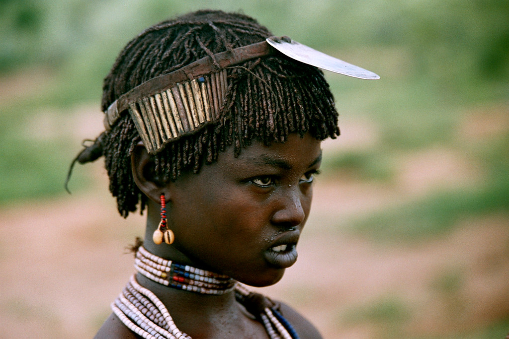 Africa - Ethiopia  Hammer Teenage Girl  The Hamer Also -2715