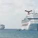 January 2011 - Vacation on Grand Cayman - Cruise Ships at Anchor