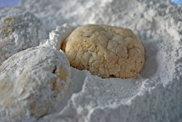South African condensed milk cookies or biscuits