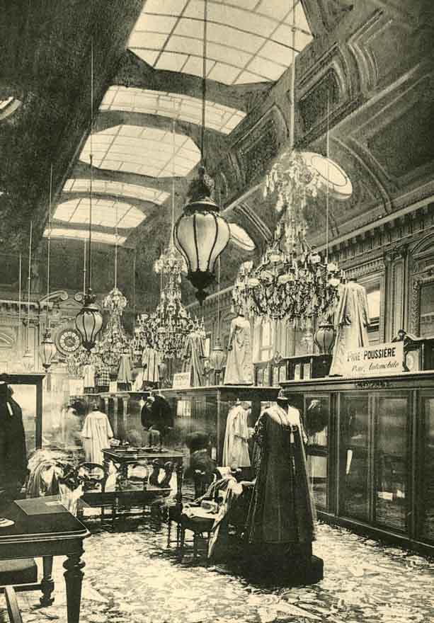 grands magasins du louvre paris ladies garment hall d. Black Bedroom Furniture Sets. Home Design Ideas