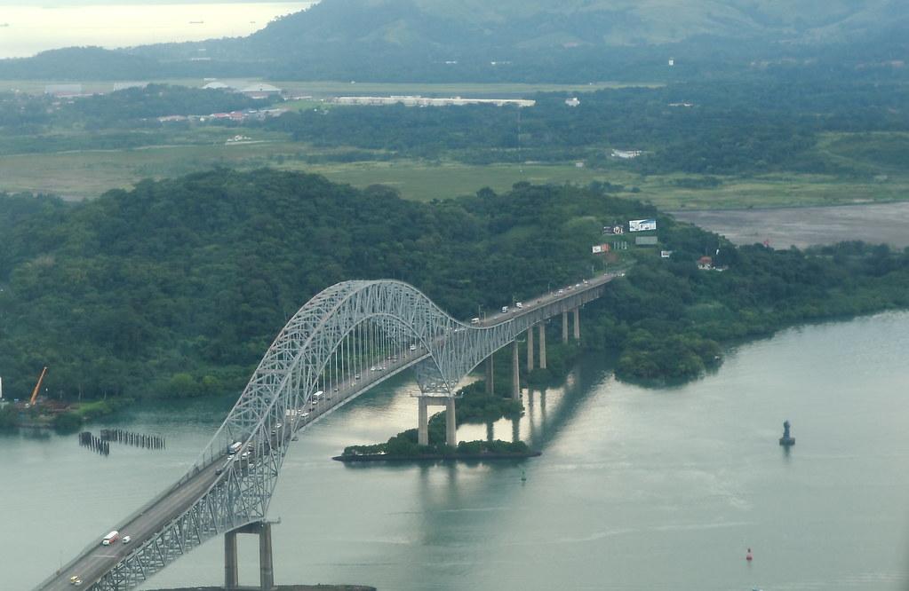 Puente De Las Am 233 Ricas Panam 225 Puente Sobre El Canal De