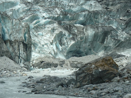 Terminus of the Fox Glacier, New Zealand | by Paul J. Morris