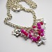 carole draper fuchsia bracelet (2)
