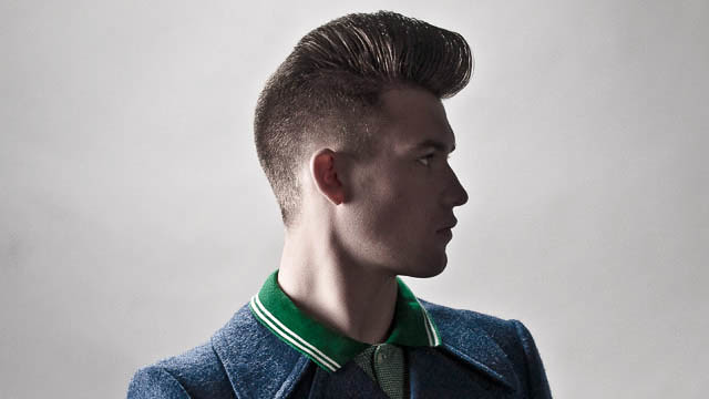 Psychobilly Hairstyle Men Salon basic haircut - the