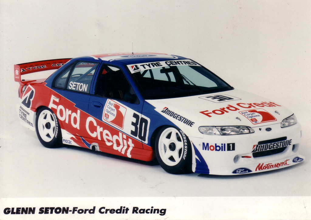 All Car Company >> 1995 Ford EF Falcon V8 Supercar - Glenn Seton Press Photo | Flickr