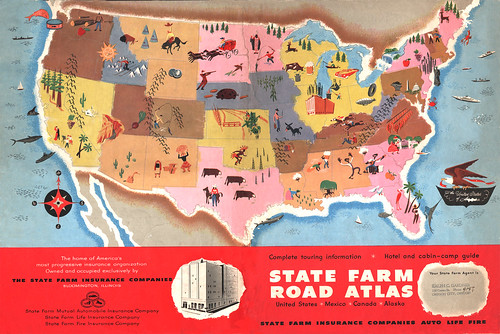 State Farm Road Atlas 1950 | by wardomatic