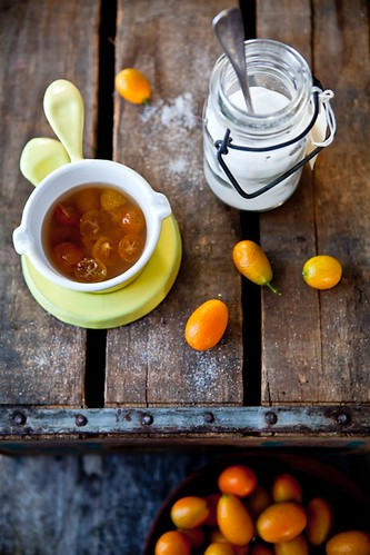 Poached Kumquats | by tartelette