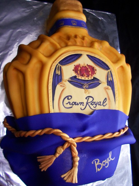 Crown Royal Cake Cake Ideas and Designs