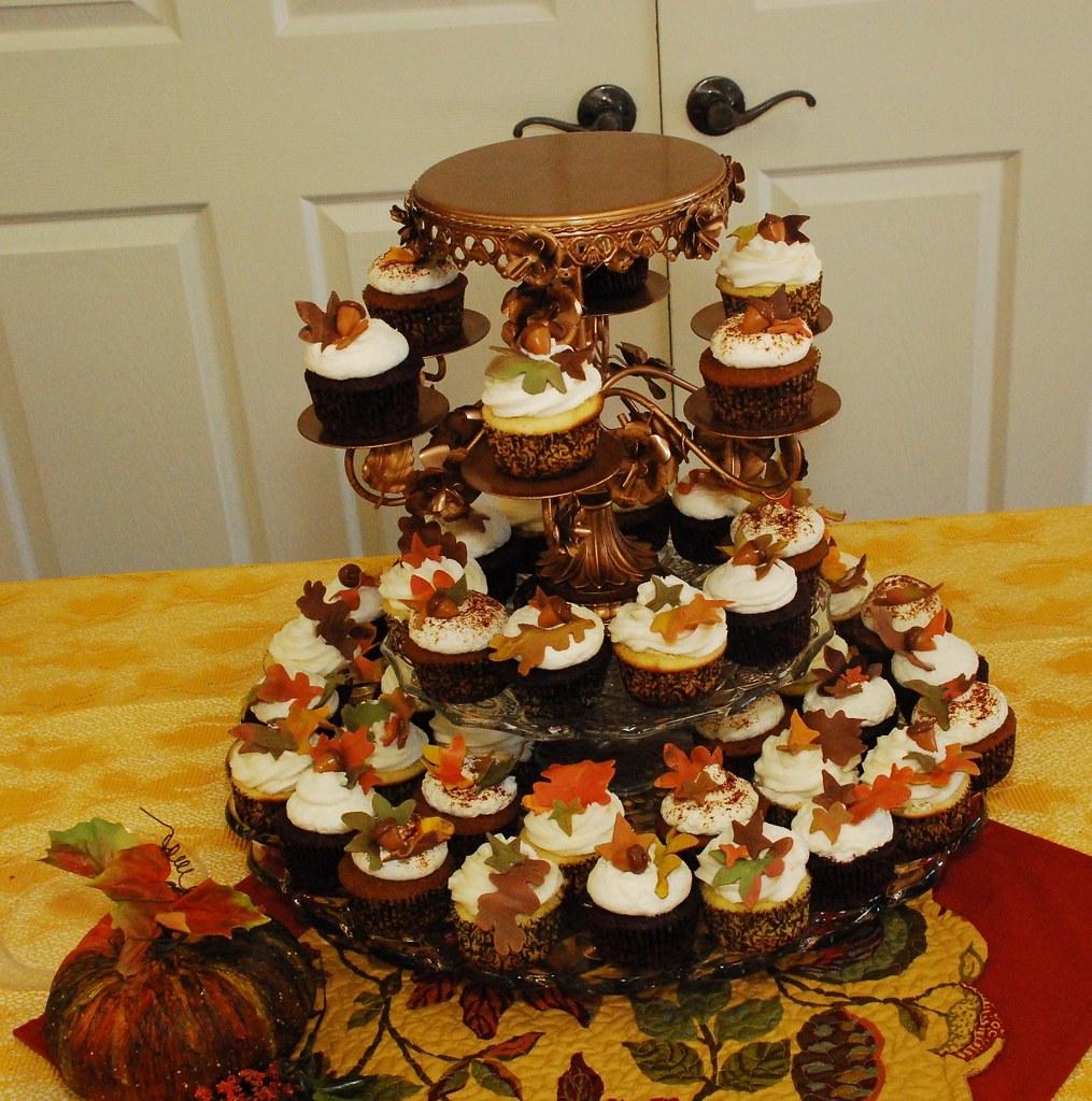 Cupcake Wedding Cake Toppers