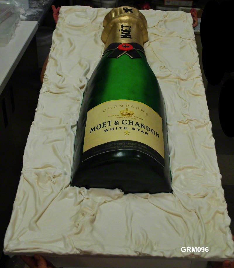 Champagne Bottle Cake Pan