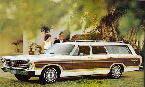 1967 ford country squire station wagon flickr photo. Black Bedroom Furniture Sets. Home Design Ideas