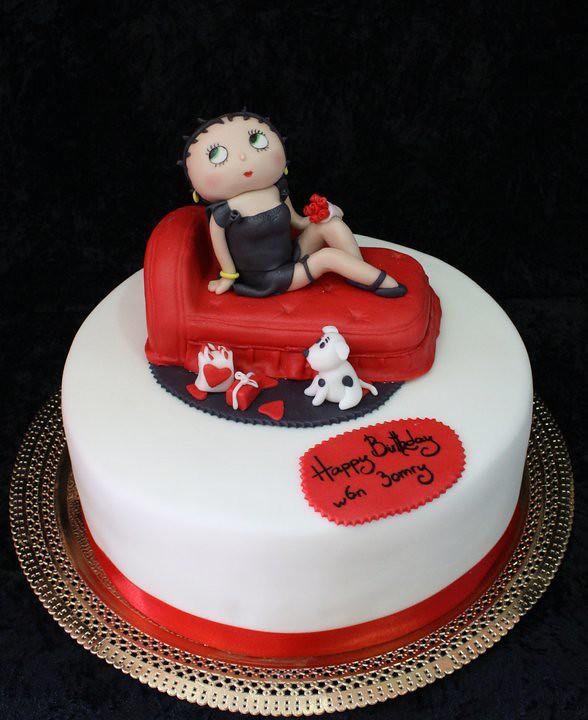 Betty White Birthday Cake