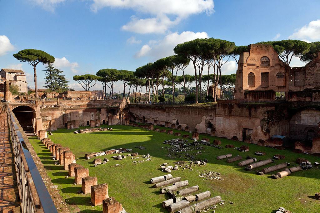 Domitian 39 s Palace And Stadium