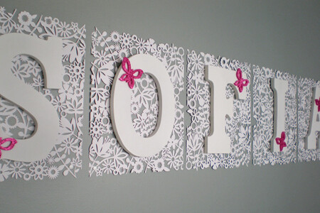 Shabby beach chic nursery 1 for more images and details for Baby room decoration letters