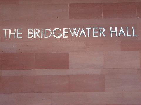 The bridgewater hall - manchester | by delmccouryband