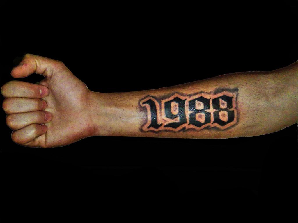 Tatuaje 1988 1988 Tattoo Shic 51 Flickr