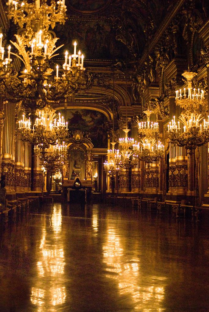 Le Grand Foyer Opera Garnier : Le grand foyer de l opéra garnier paris ème et si on se