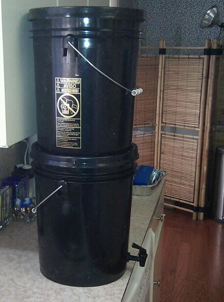 What Is Rubber Made Of >> DIY Berkey Water Filter | Made my own water filtration unit … | Flickr