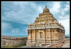 Withstanding the Weather -- Jain Temple at Shravanabelagola