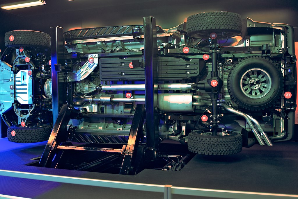 Ford Raptor Undercarriage | Hopefully this is the only ...