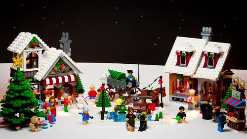 Lego Christmas Card Design Flickr Photo Sharing