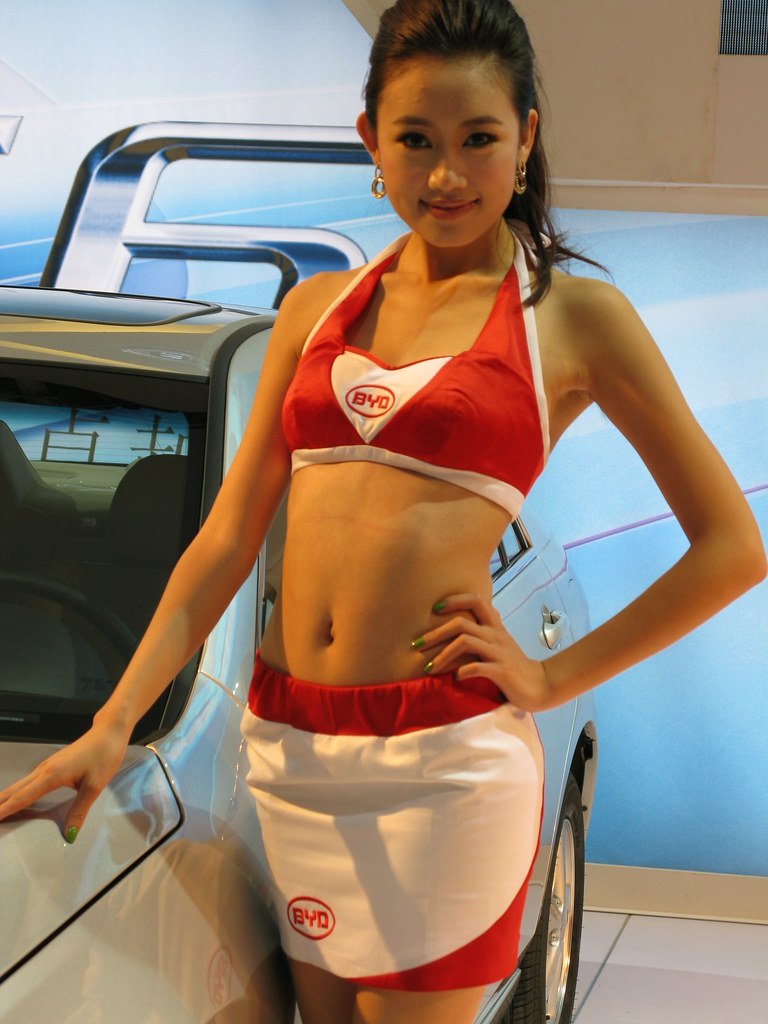 Byd Motor Show Girl 2010深圳汽车嘉年华比亚迪模特 Ken Zhao Flickr