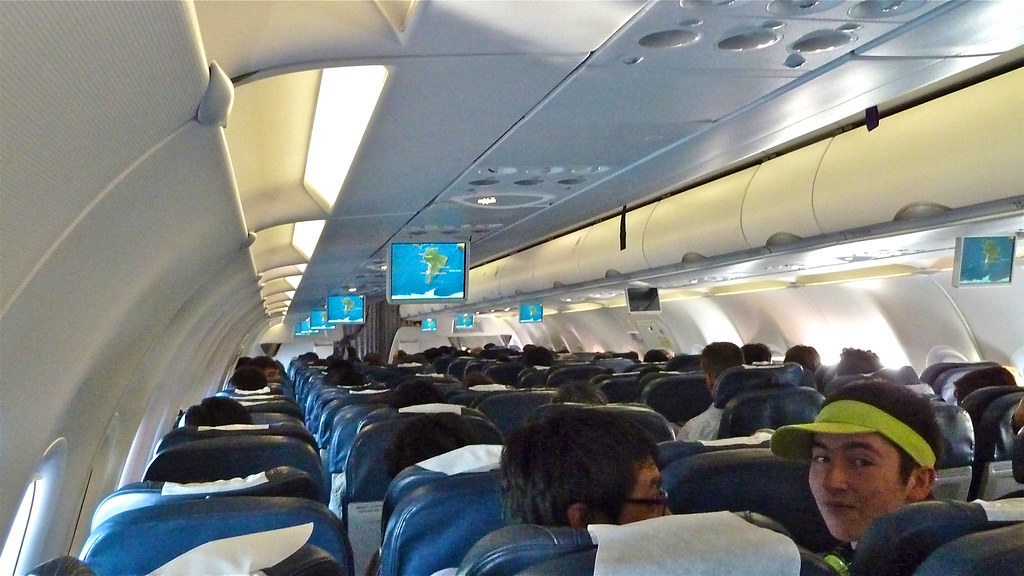 In Cabin Lan Airline A318 In Cabin Airbus A318 Lan