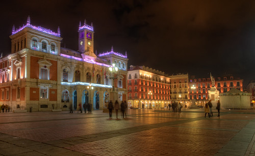 Plaza Mayor, Valladolid (Spain), HDR | HDR from five ...