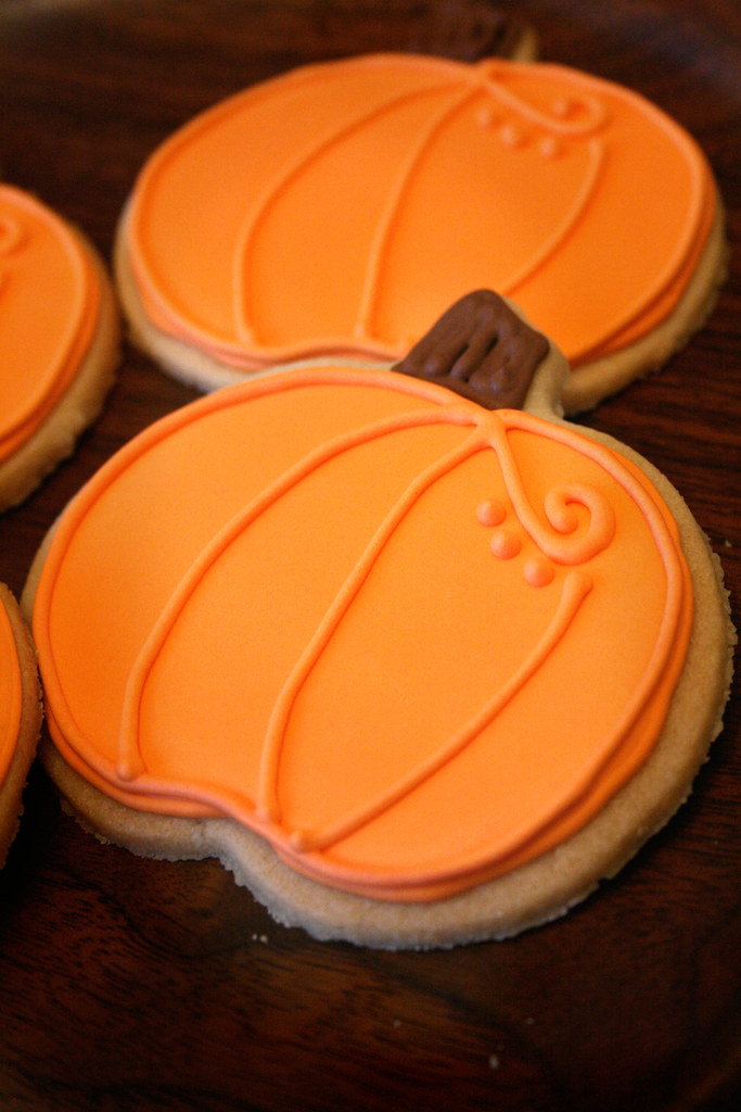 Pumpkin Cookies. | Cookies ordered for a squadron in Iraq. | Nicole Cleghorn | Flickr