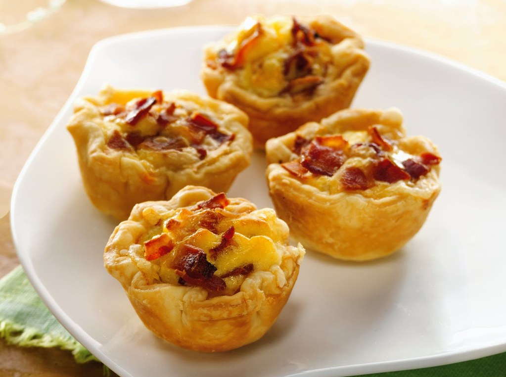 Mini Bacon Cheese Cups Recipe | INGREDIENTS: 1 box ...
