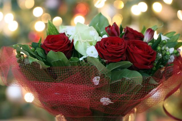 D th wedding anniversary bouquet bokeh flickr