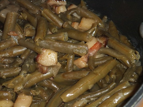 Green Beans with Jowl Bacon | by swampkitty