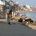 Varanasi promenade