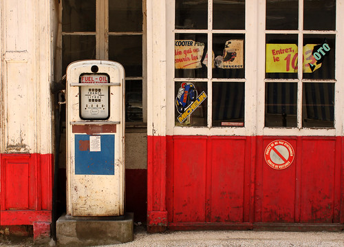 Red Station/Good Service. | by Pauline Olive.