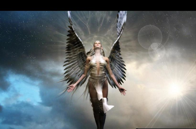 Angels Wallpapers For Desktop 3d: My Personal Art Work.. The Angel