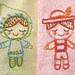stitch along week 2 boy and girl
