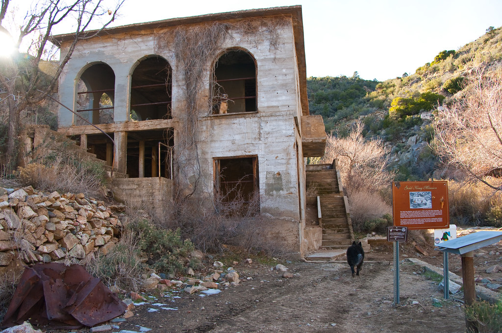Gold King Mansion We Hiked Up A Scenic Canyon In The