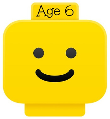 LEGO smiley head for age 6