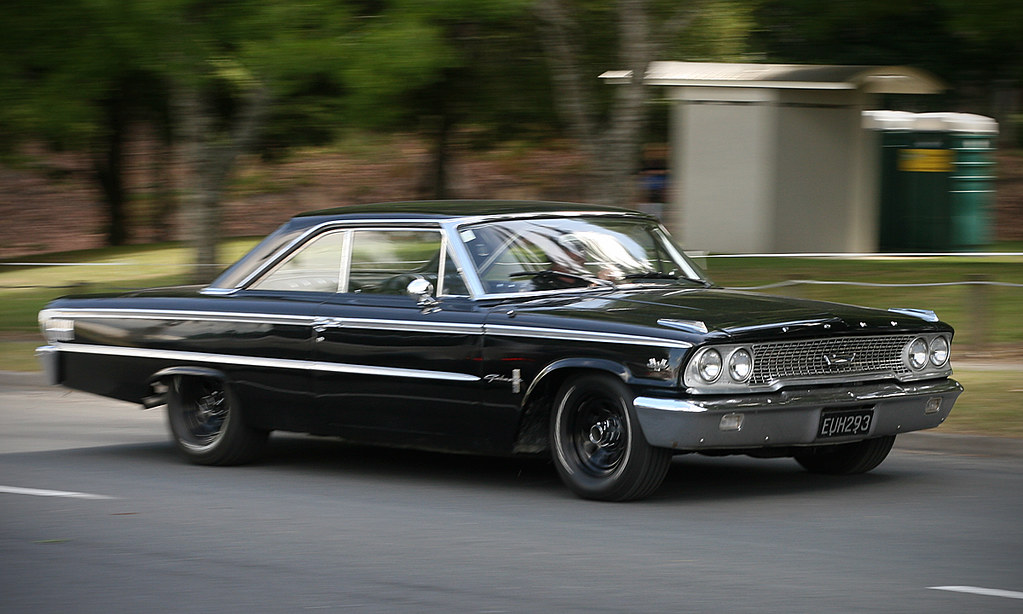 1963 Ford Galaxie 428 Stragglers Charity Kustom