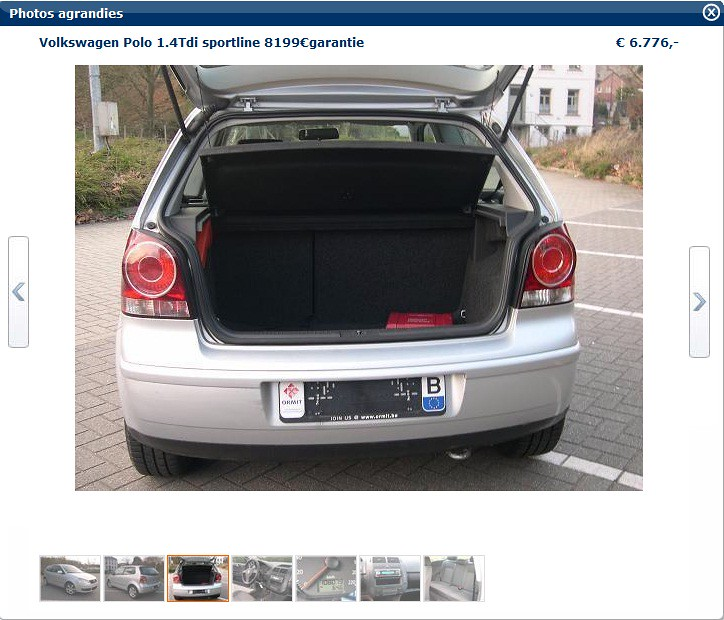 vendre volkswagen polo 1 4tdi sportline kevin vandeleene flickr. Black Bedroom Furniture Sets. Home Design Ideas