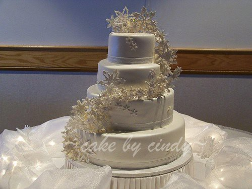 wedding cake snowflakes snowflake wedding cake snowflake wedding cake for 25151